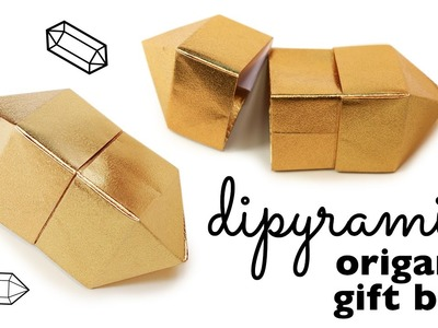 Origami Gem Box Instructions