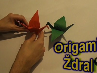 ORIGAMI : Zdral Od Papira - How To Make A Paper Crane