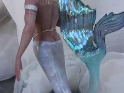 Sculpting a Sexy Merman.Mermaid Video Set now at www.MakingFairies.com
