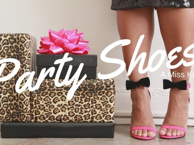 SHOEtorial: DIY Bow Accent Party Shoes