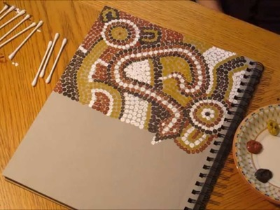 Speed Painting: Aboriginal Dot Art