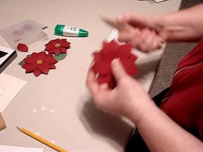 Stampin' Up! Poinsettia Tutorial.wmv