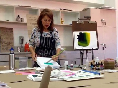 Tips for Glazing with Acrylics
