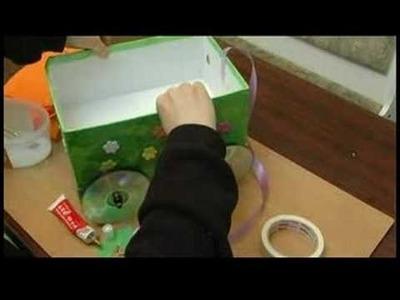 Children's Crafts: Shoe Box Wagon : Children's Crafts: Shoe Box Wagon Handle