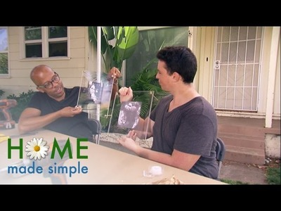 Create Museum-Worthy Floating Acrylic Picture Frames | Home Made Simple | Oprah Winfrey Network