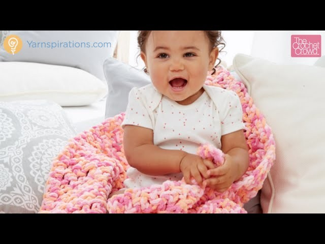 Crochet Rock A Bye Baby Blanket Tutorial
