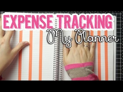 DIY Expenses Tracking Page + How I Curb Impulse Spending.Shopping | My Planner Series
