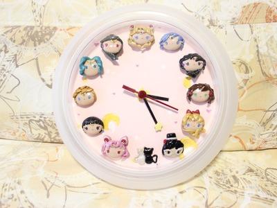 DIY Ikea Clock Hack: Sailor Moon Process Video