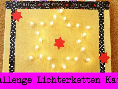 DIY Inspiration Challenge #34 Lichterketten | Kathis Challenge | Tutorial - Do it yourself