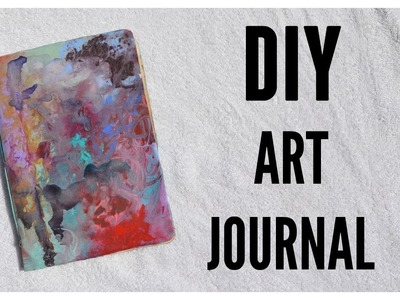 DIY NEW Art Journal!