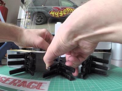 DIY: Toy car cheap display cases
