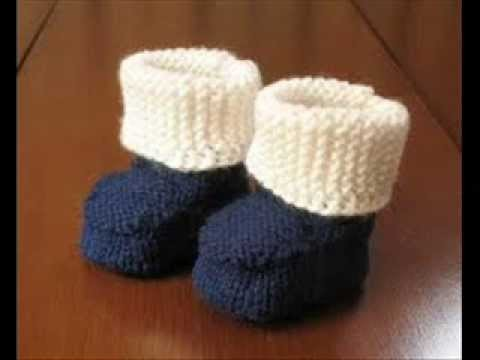 Easy Crochet Newborn Baby Booties