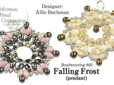 Falling Frost Pendant.Earrings