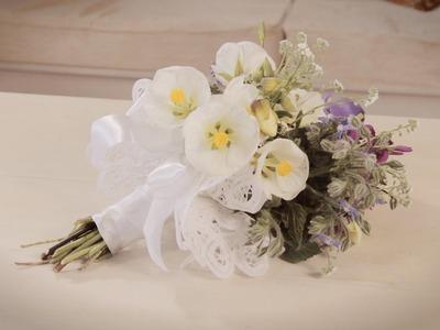 Freshly Picked Spring Flower Bouquet Floristry Tutorial
