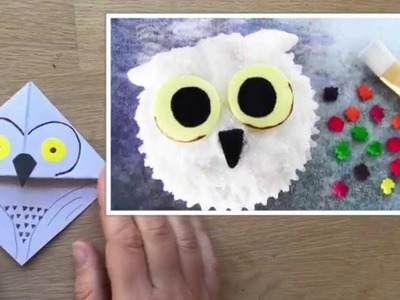 Harry Potter Ideas - Hedwig Owl Bookmark - Collaboration with SugarCoder