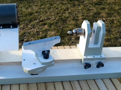 Homemade Lathe Pt. 2 - tool rest and tailstock