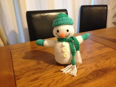 How to crochet the snowman - PART 1