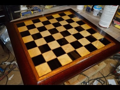 How to make a bad ass chess board out of scrap wood