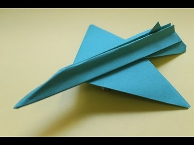 How to make a cool paper plane origami: instruction| TSR2