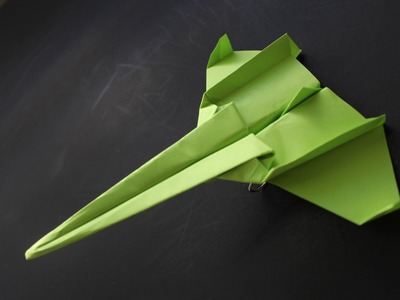 How to make a cool paper plane origami: instruction| Super Secret Bomber