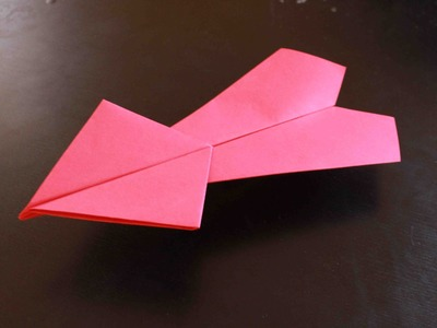 How to make a cool paper plane origami: instruction| Th Stranger