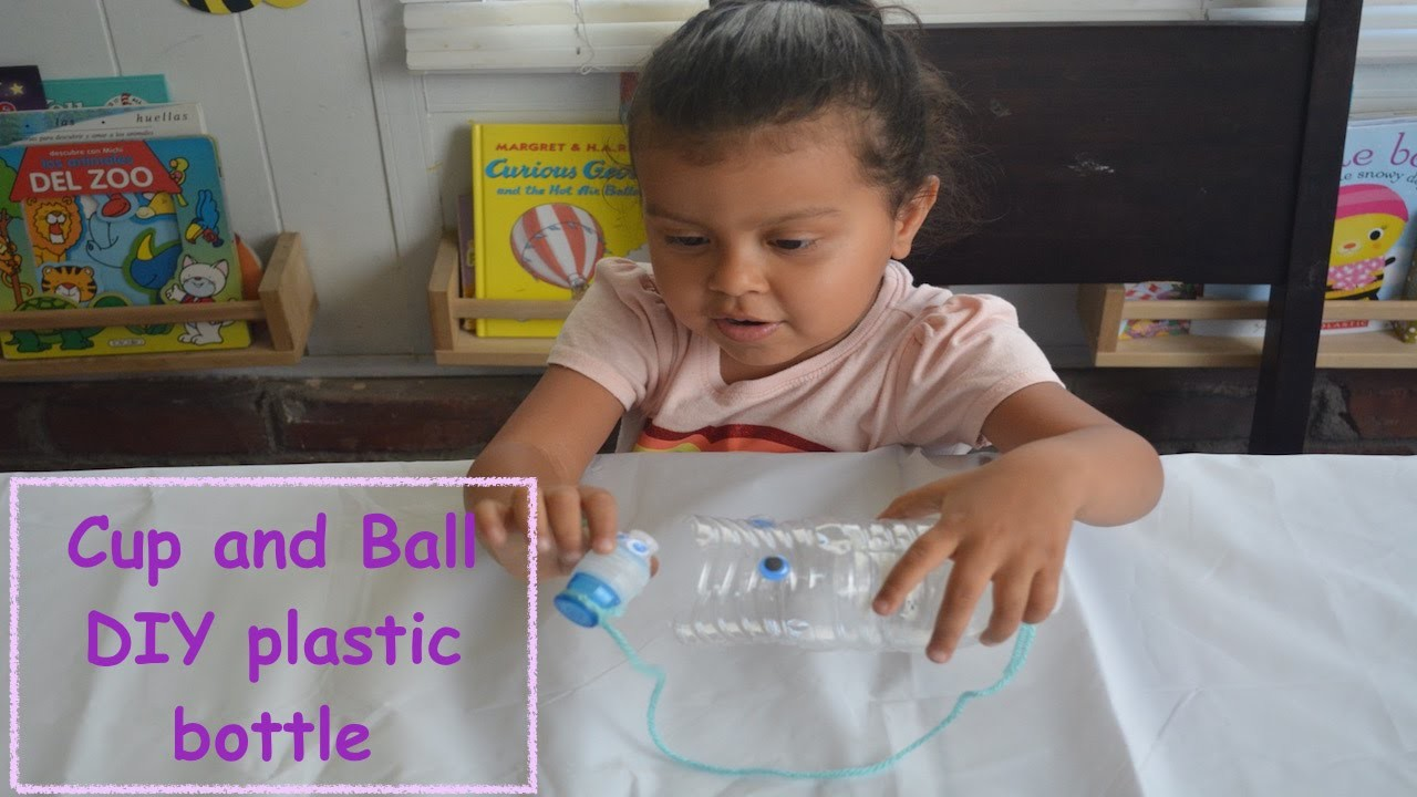 How to make a Cup and Ball Toy  Como Hacer un Balero