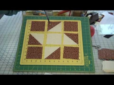 How to Make Patriotic Friendship Star Block