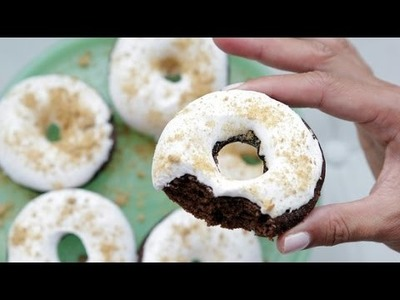 How to Make S'mores Donuts | Eat the Trend
