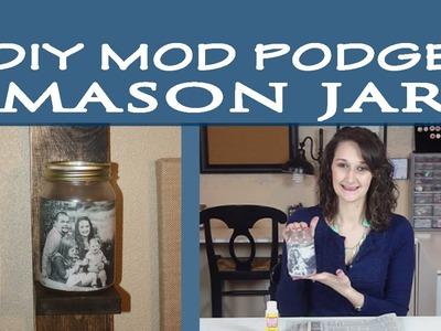Mod Podge Mason Jar | #19
