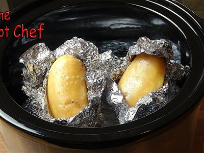 Quick Tips: Slow Cooker Baked Potatoes | One Pot Chef