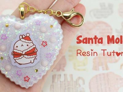 Santa Molang Resin Piece Tutorial