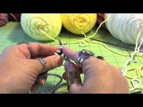 Spiral scrubbie part 1