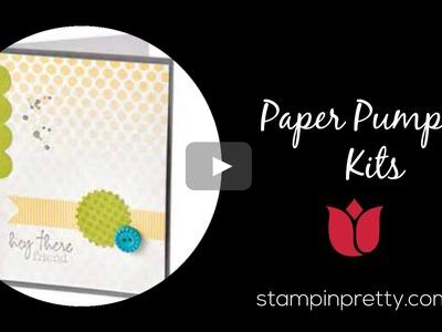 Stampin' Up! Tutorial:  Paper Pumpkin Kits