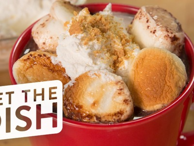 Starbucks Secret Menu: S'mores Hot Chocolate Recipe | Get the Dish