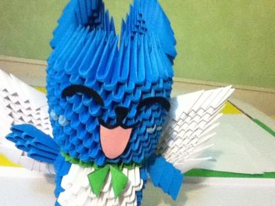 Tutoriel Happy (Fairytail) Origami 3D