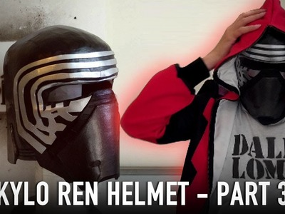 #111: Kylo Ren Helmet Part 3 - Details & Paint | Star Wars 7 | Costume | How To | Dali DIY