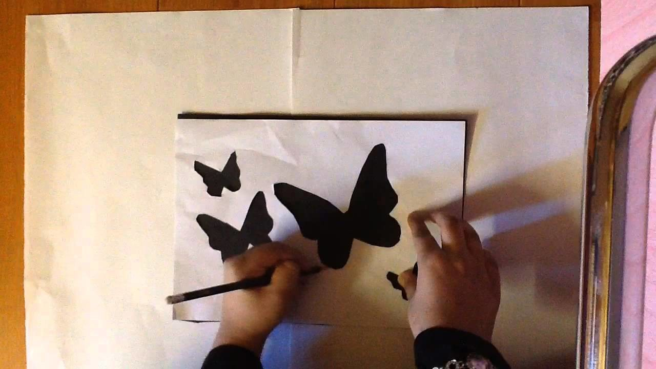 3D Butterfly Wall Tutorial