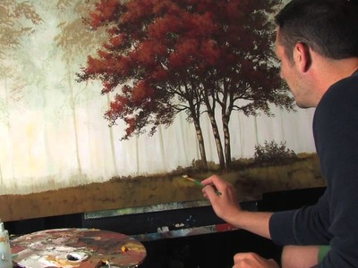 Acrylic Painting Lessons Tips and Tricks Painting Layers by Tim Gagnon