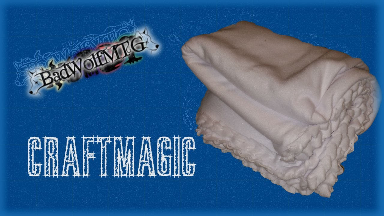CraftMagic - Fleece Blanket Part 1