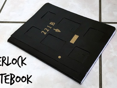 DIY Sherlock notebook (back to school!)