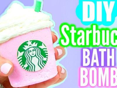 DIY Starbucks BATH BOMB!