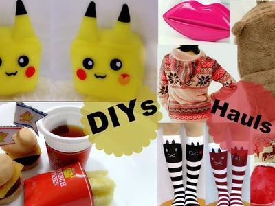 Fun DIYs When you're bored: DIY Pikachu Square Cube+ Miniature Burger Meal+ Cheap Haul