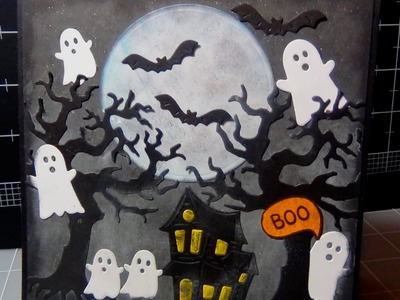Halloween Card Series   Card #7