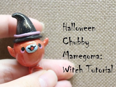 Halloween Witch Mamegoma Tutorial