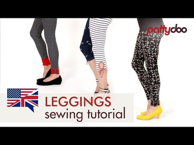 How to sew Leggings for Women - A Step by Step Sewing Tutorial