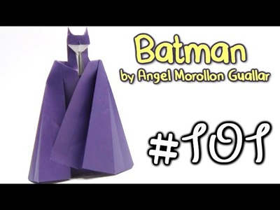 Origami BATMAN by Angel Morollon Guallar - Yakomoga Origami tutorial