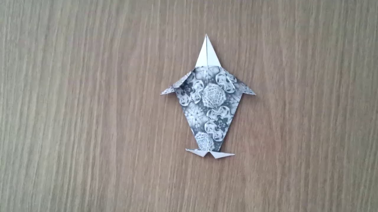 Origami Tutorial : Doll ( Model 2 )