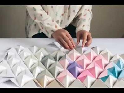 Sonobe modular origami part 1