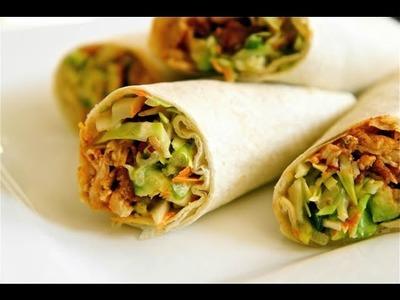 Spicy Buffalo Chicken Wraps