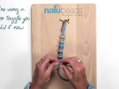 The Classic Nalu Beads Bracelet Video tutorial.